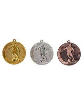 50mm Medaille Fussball 9335