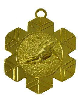 50mm Medaille Schifahren V74G