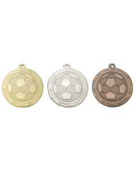 45mm Medaille Fussball ME105
