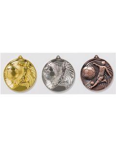 50mm Medaille Fussball 9186
