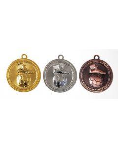 70mm Medaille Fussball 9277