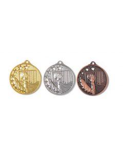 45mm Medaille Handball 9258