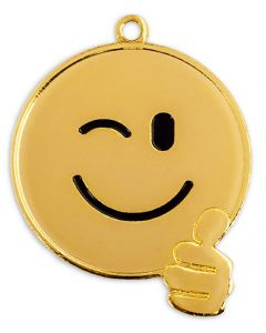 50mm Medaille Smiley 9305