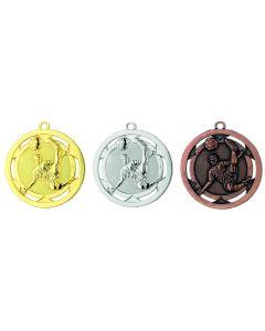 50mm Medaille Fussball D4A