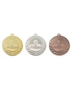 50mm Medaille Schwimmen DI5000H