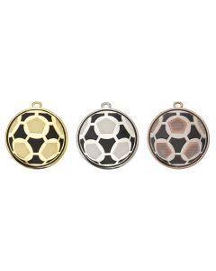 50mm Medaille Fussball DI5009
