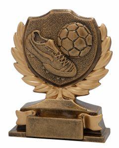 FG155 Fußball gold Standtrophäe Höhe 12cm