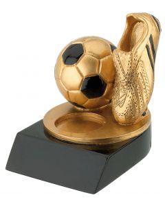 FG240 Fußball Schuh gold Höhe 8cm