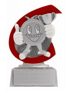 FG254 Pokal Smile Standtrophäe Höhe 10cm