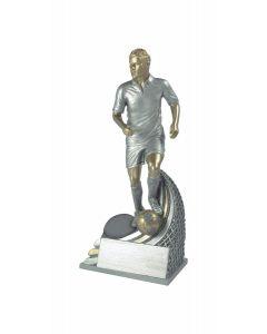FG861-64 Fußballer Standtrophäe in 4 Höhen 15cm-17,5cm-20cm-25cm