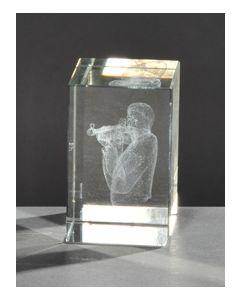 Kristallquader Gewehrschütze