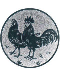 Emblem Hühner (Nr.91)