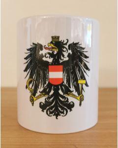 Kaffeetasse mit Adler Österreich ohne Text