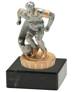 FX004 Fußballer Standtrophäe Höhe 10cm mit Marmorsockel