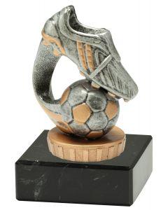 FX005 Fußball Standtrophäe Höhe 10cm mit Marmorsockel