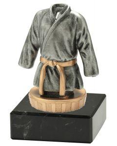 FX009 Judo / Karate Standtrophäe Höhe 10cm mit Marmorsockel