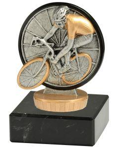 FX030 Radfahren Standtrophäe Höhe 10cm mit Marmorsockel