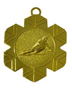 70mm Medaille Schifahren MD74G