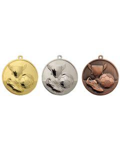 50mm Medaille Fussball TAC047