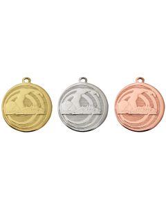 45mm Medaille Schwimmen TAC091