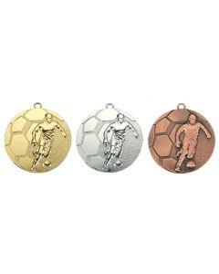 50mm Medaille Fussball D61
