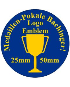 25mm PVC Emblem