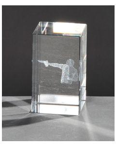 Kristallquader Pistolenschütze