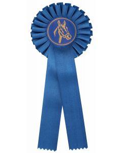 Pferdeschleife R100 blau (48 Stück)