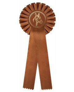 Pferdeschleife R100 braun (48 Stück)