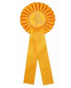 Pferdeschleife R100 gelb (48 Stück)