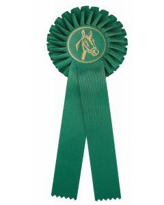 Pferdeschleife R100 grün (48 Stück)