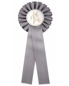 Pferdeschleife R100 grau (48 Stück)