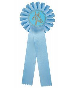 Pferdeschleife R100 hellblau (48 Stück)