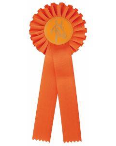 Pferdeschleife R100 orange (48 Stück)