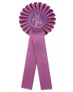Pferdeschleife R100 violett (48 Stück)