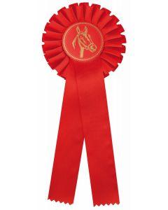 Pferdeschleife R100 rot (48 Stück)