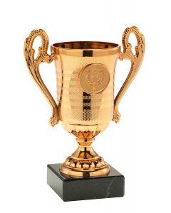 Minipokal TAC306 bronze Höhe: 14,5cm